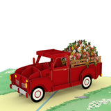Garden Truck                                   pop up card - thumbnail