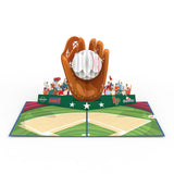 Dad's Home Run                                                          birthday                                                     pop up card - thumbnail
