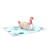Mother Goose                                   pop up card - thumbnail