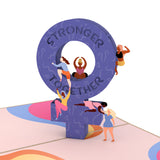 Stronger Together                                   pop up card - thumbnail
