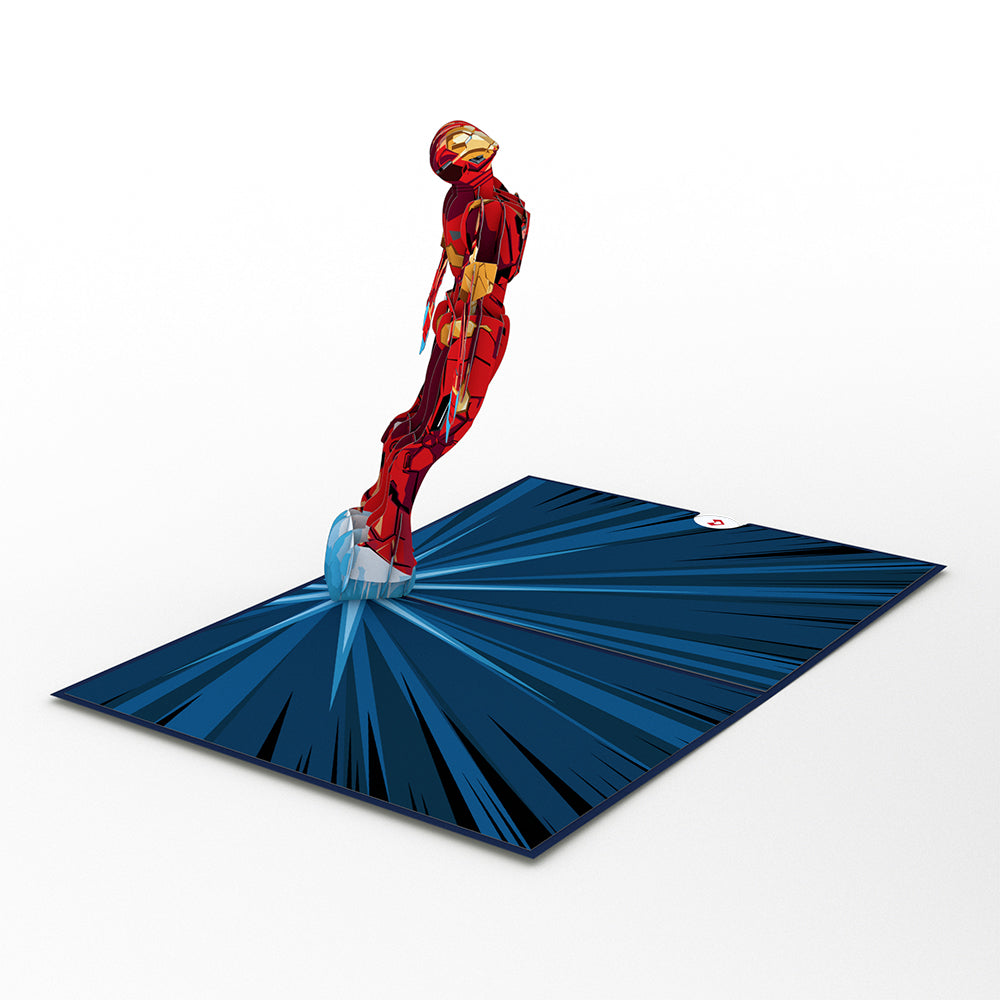 Marvel Iron Man I Love You 3000             pop up card