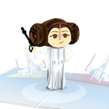 Star Wars Princess Leia: Rebel                                   pop up card - thumbnail