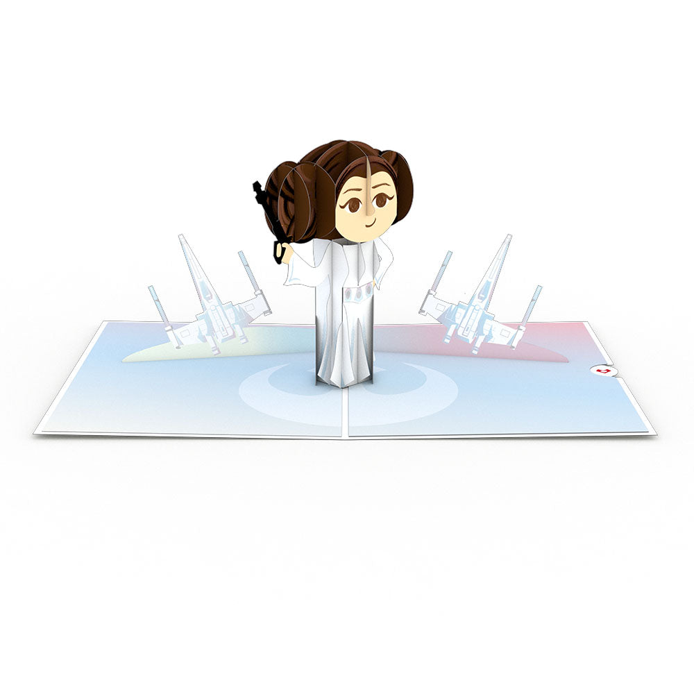 Star Wars Princess Leia: Rebel             pop up card