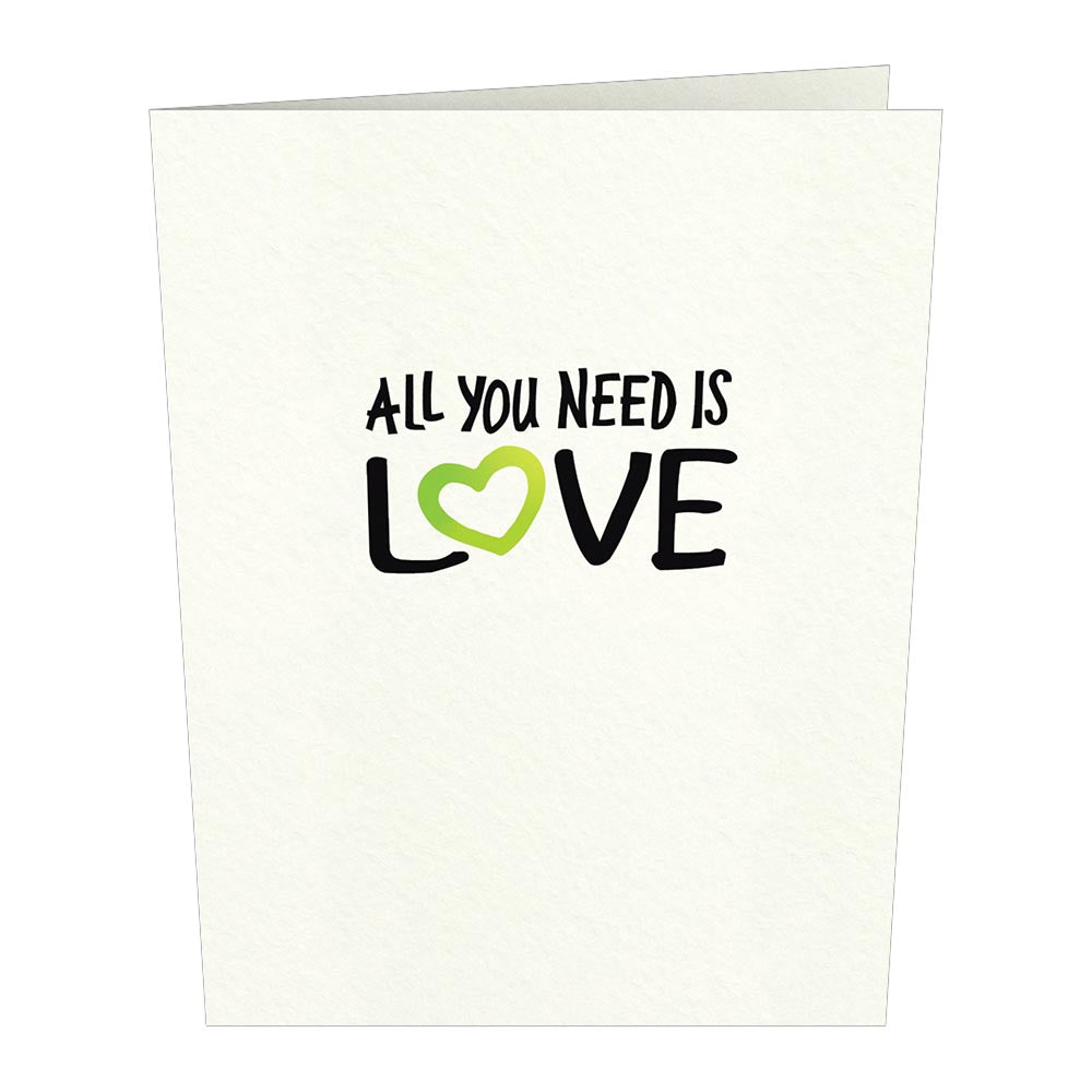 The Beatles All You Need Is Love Notecards (Assorted 4-Pack)