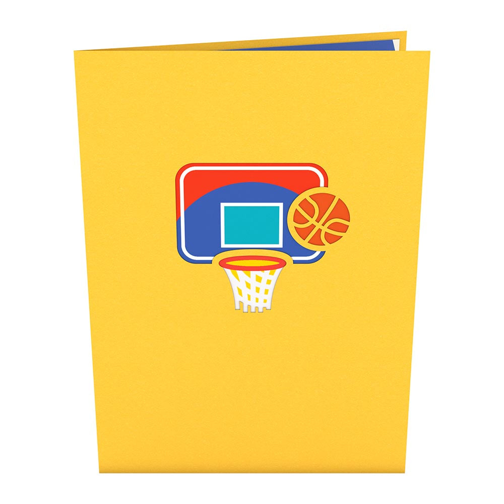 Slam Dunk                                             birthday                            pop up card