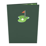 Hole in One                                                          birthday                                                     pop up card - thumbnail
