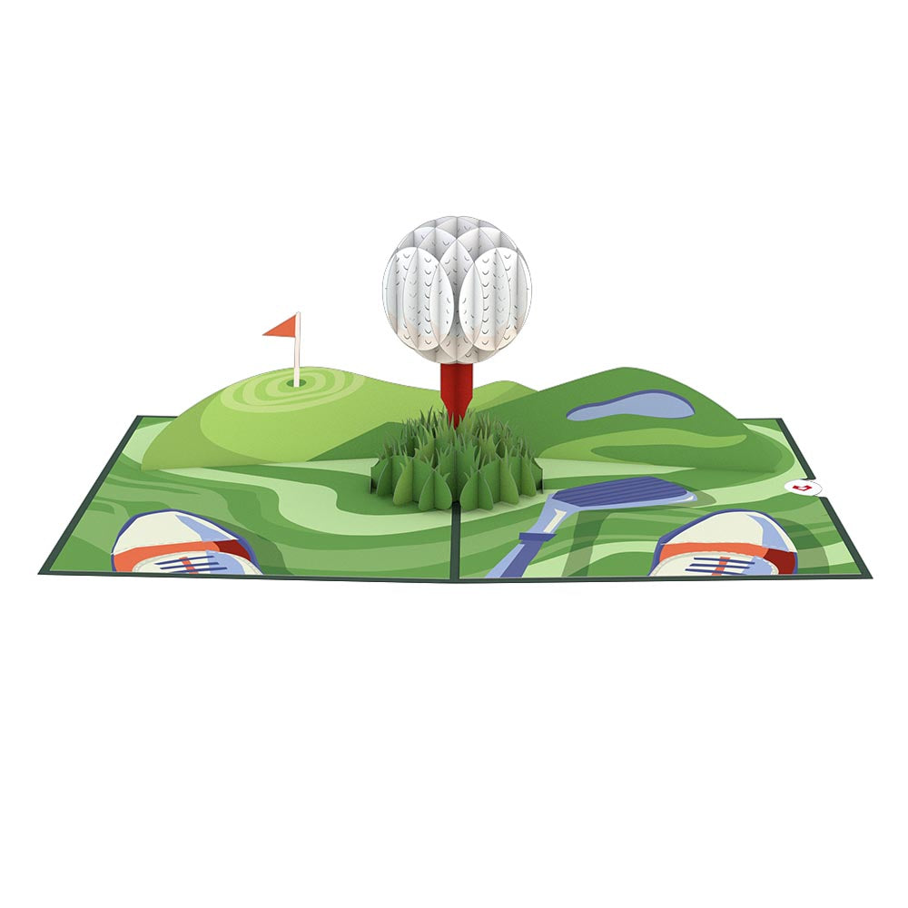 Hole in One Pop-Up Card