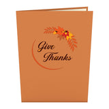 Give Thanks Turkey                                   pop up card - thumbnail