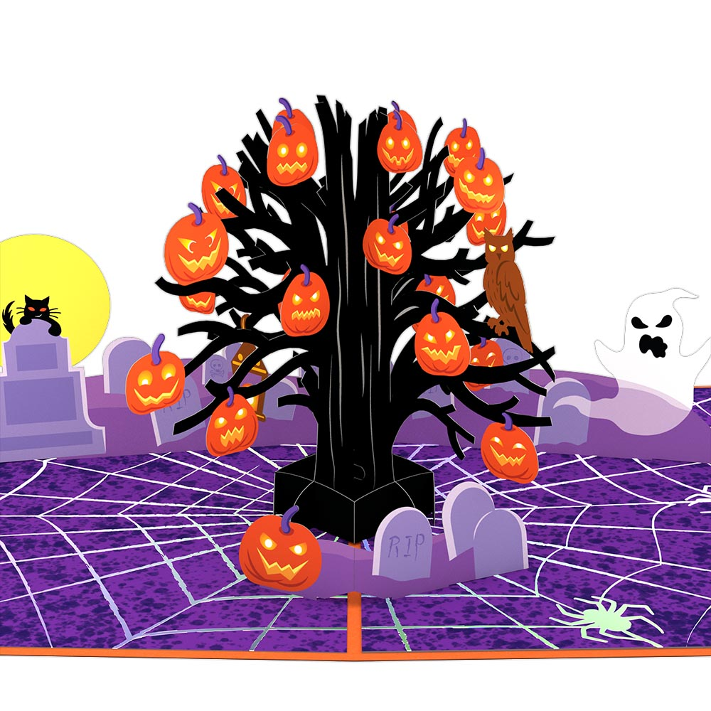 Spooky Tree             pop up card