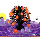 Spooky Tree                                   pop up card - thumbnail