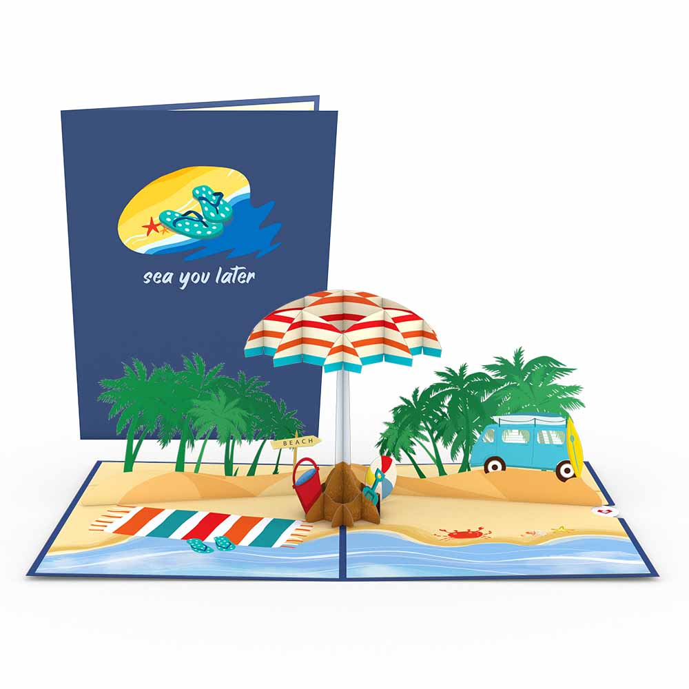 Sea You Later Pop-Up Card