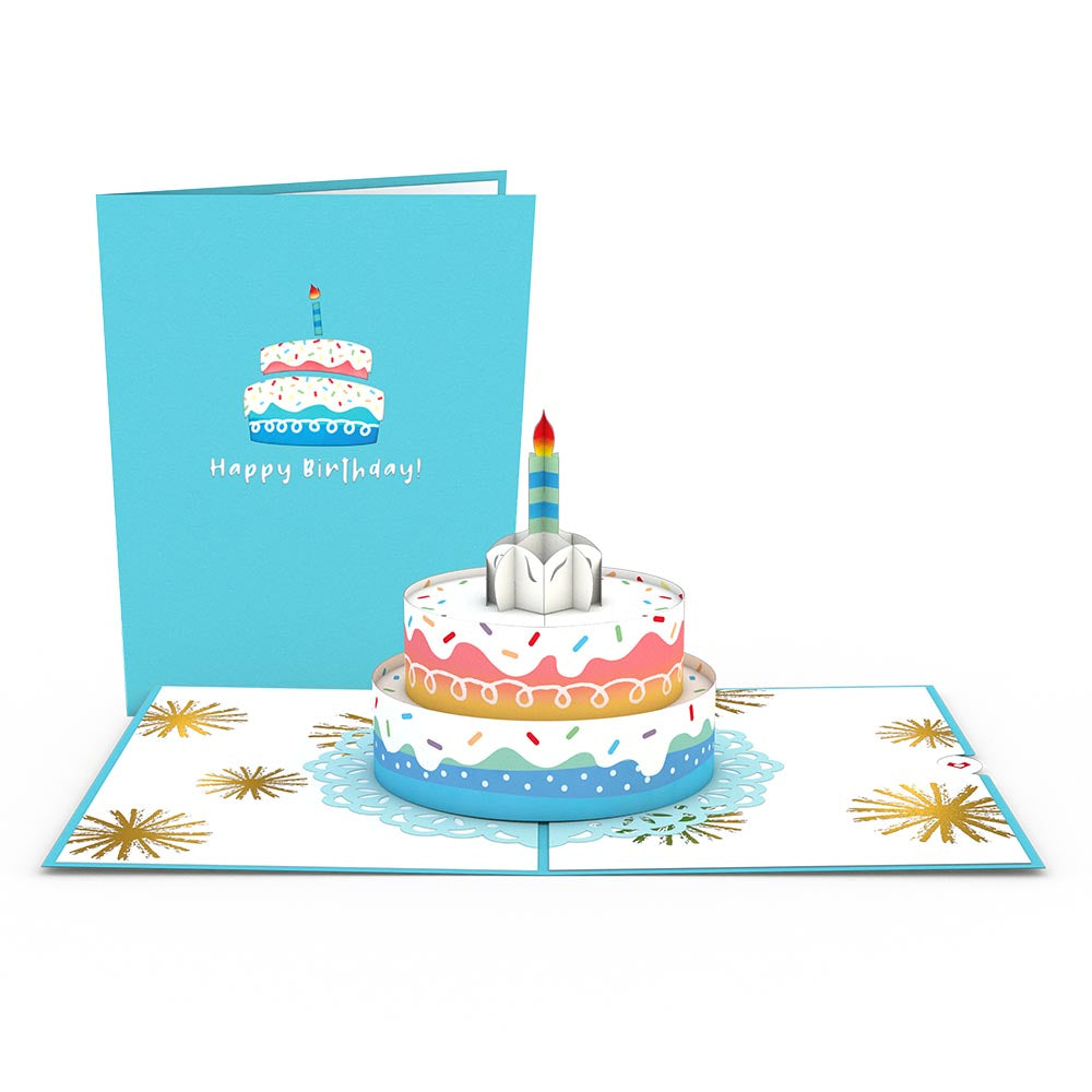 Birthday 7 Pack                                         pop up card