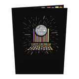 Star Wars™ Death Star™ Disco Birthday                                                                       pop up card - thumbnail