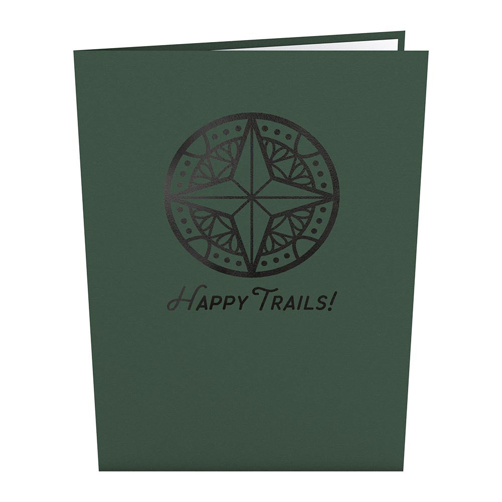 Happy Trails Camping Trip             pop up card