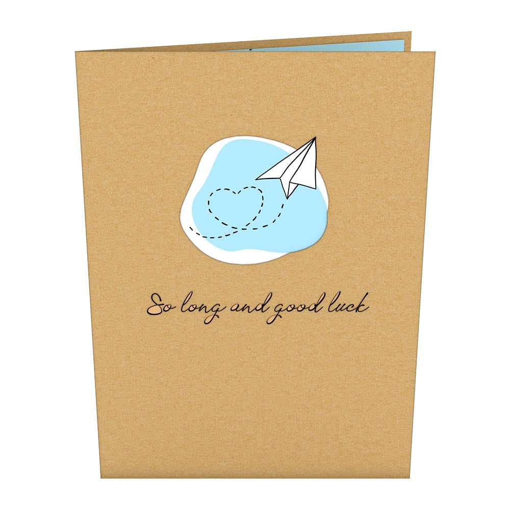 So Long and Good Luck             pop up card