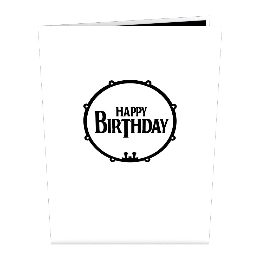The Beatles Abbey Road Birthday Cake Pop Up Card