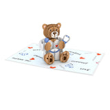 Doctor Bear                                   pop up card - thumbnail