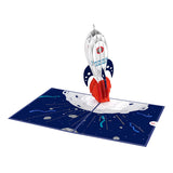 Congrats Rocketship                                   pop up card - thumbnail