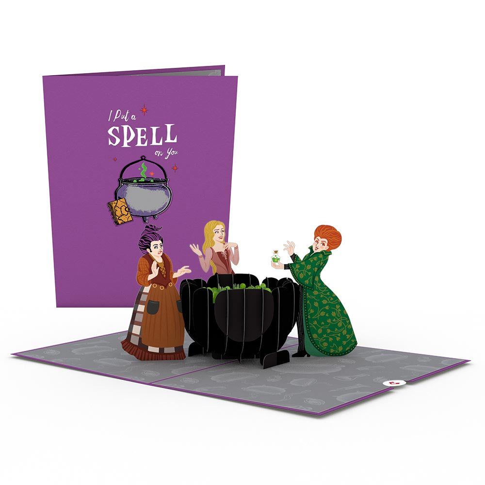 Disney's Hocus Pocus I Put a Spell on You             pop up card
