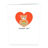 Thank You Bear                                   pop up card - thumbnail