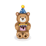Stickerpop™: Birthday Bear (1 Pack)                                                                       pop up card - thumbnail