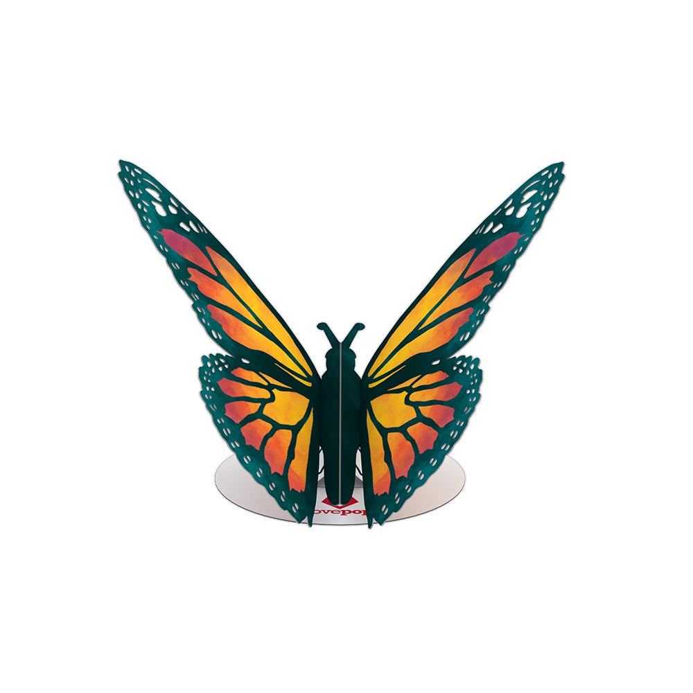 Stickerpop™: Monarch Butterfly (1-Pack)             pop up card