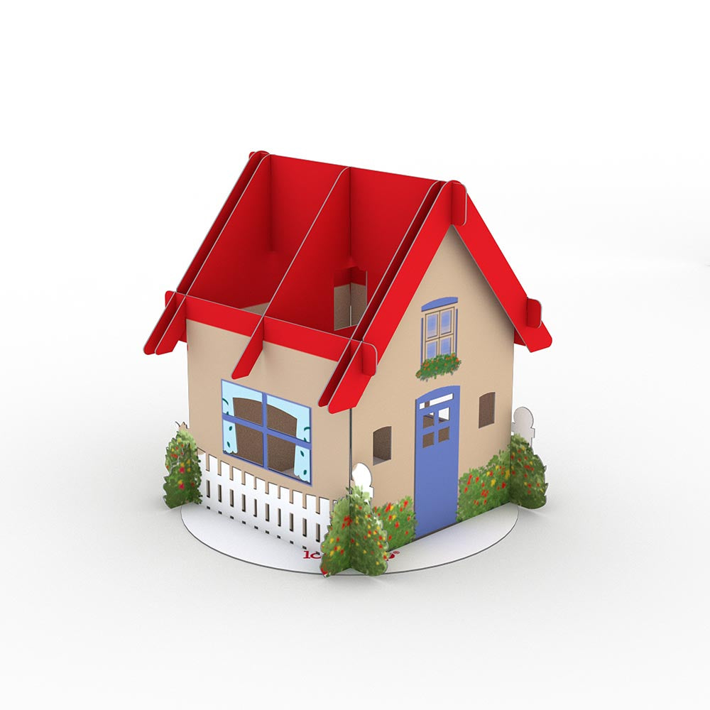 Stickerpop™: House (1-Pack)             pop up card
