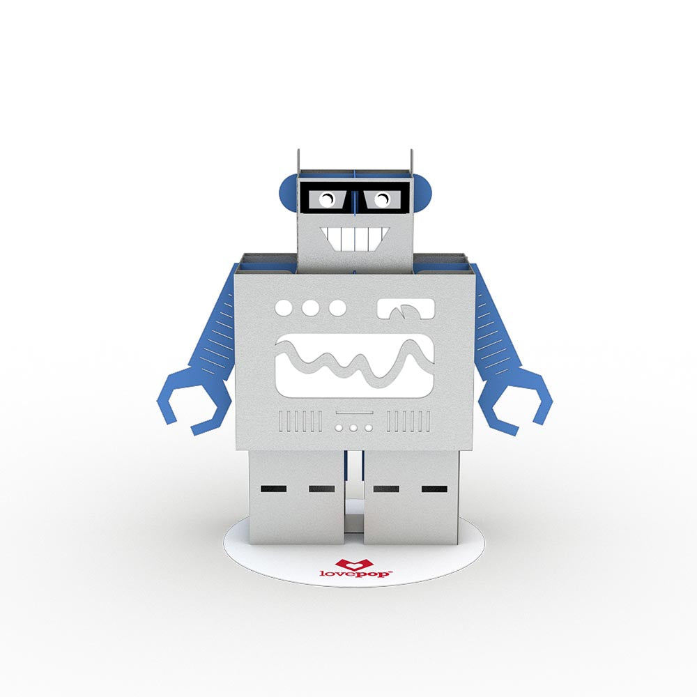 Stickerpop™: Robot (1 Pack)             pop up card