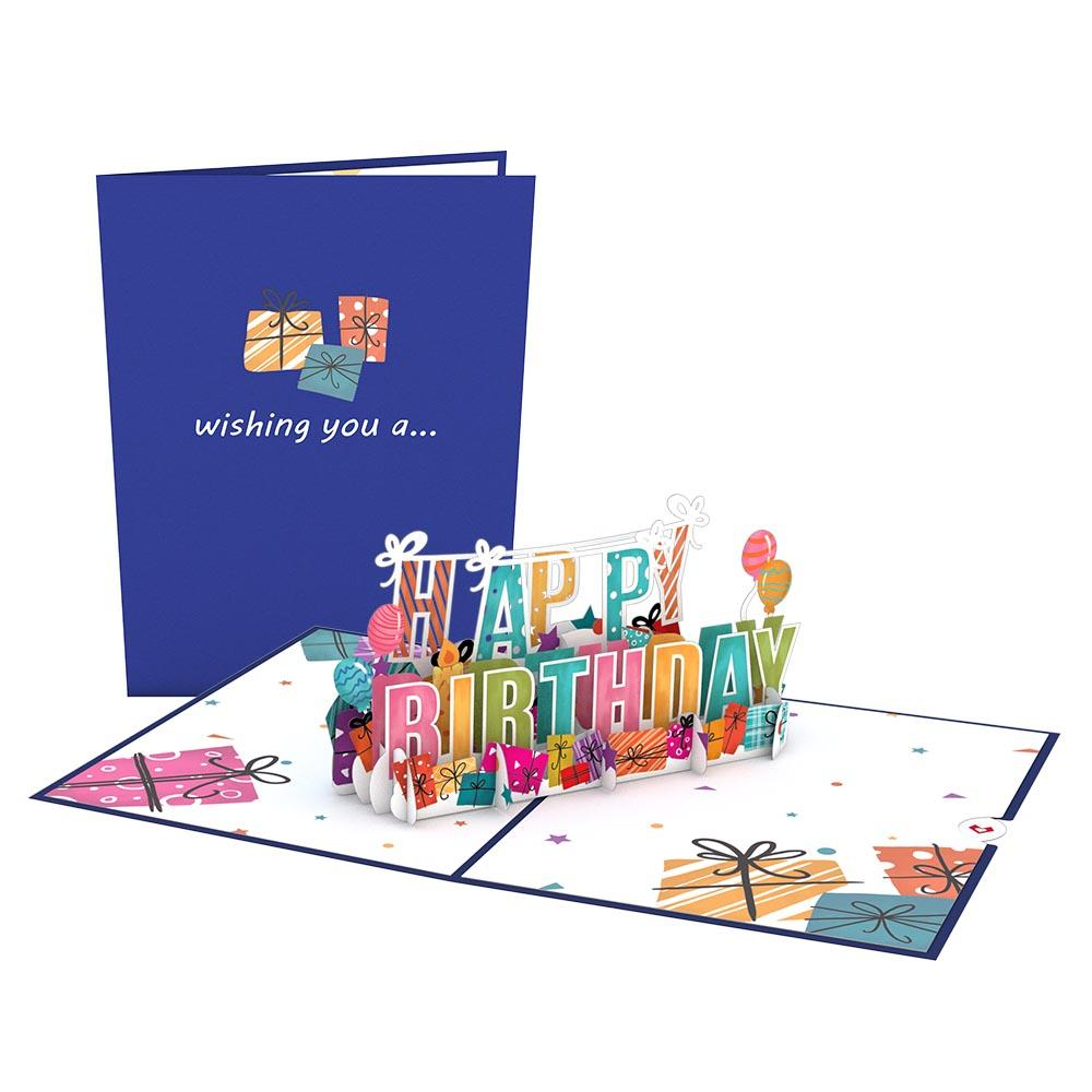 Birthday Bundle                                         pop up card