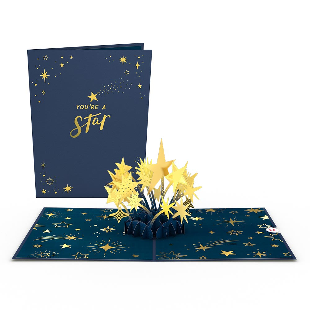 You're a Star Pop-Up Card