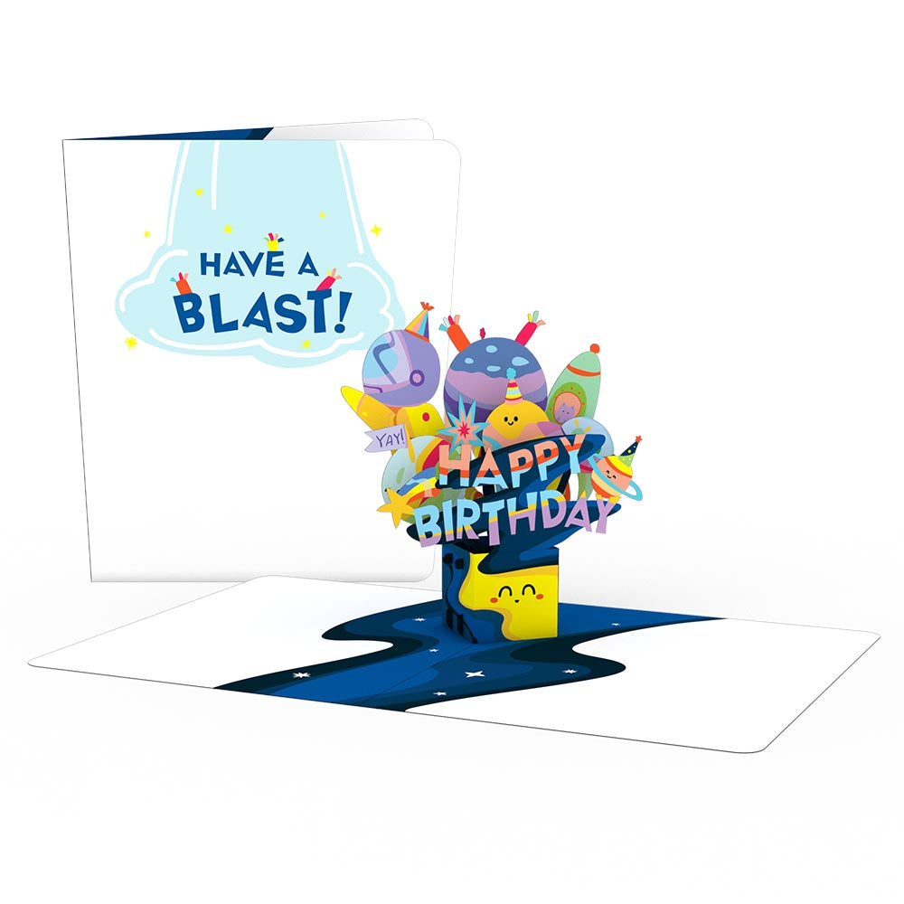 Playpop Card™: Out of This World Birthday             pop up card
