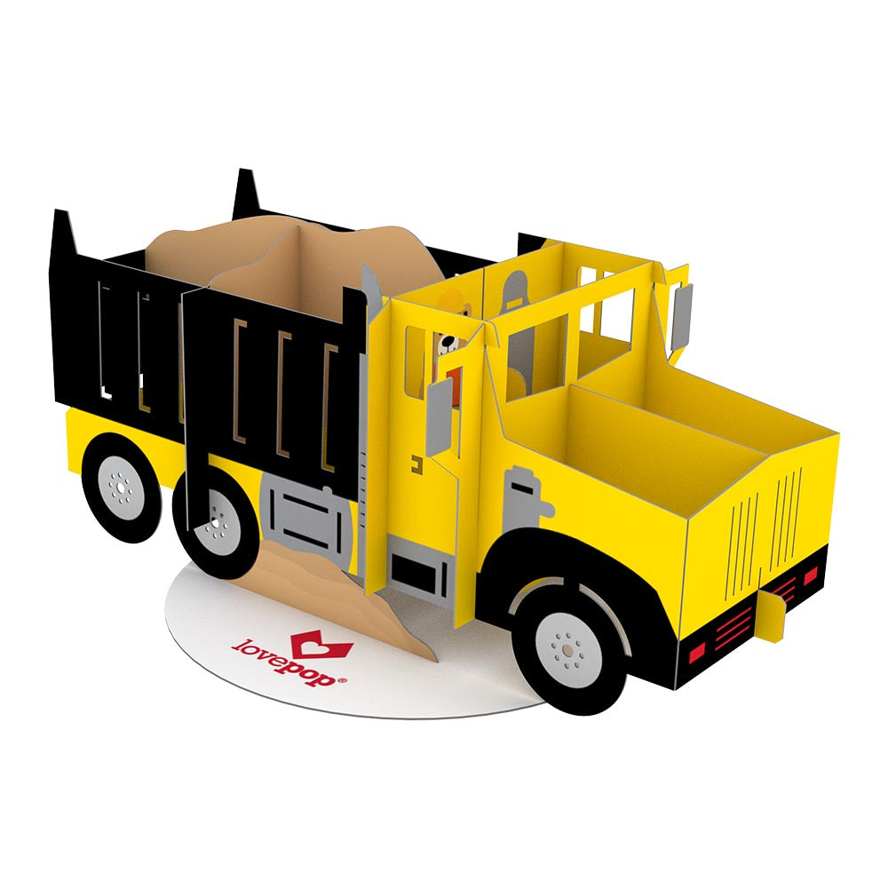 Stickerpop™: Dump Truck (5-Pack)             pop up card