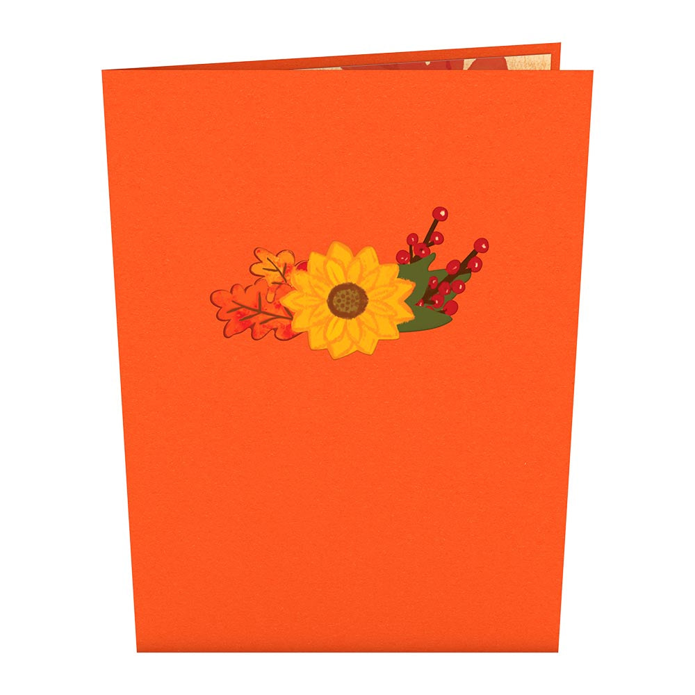 Fall Candle Pop-Up Card
