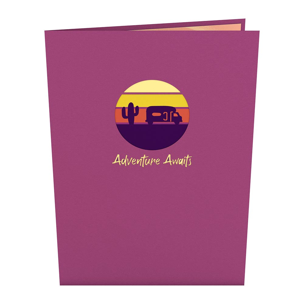 Road Trip             pop up card