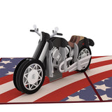 American Motorcycle                                   pop up card - thumbnail
