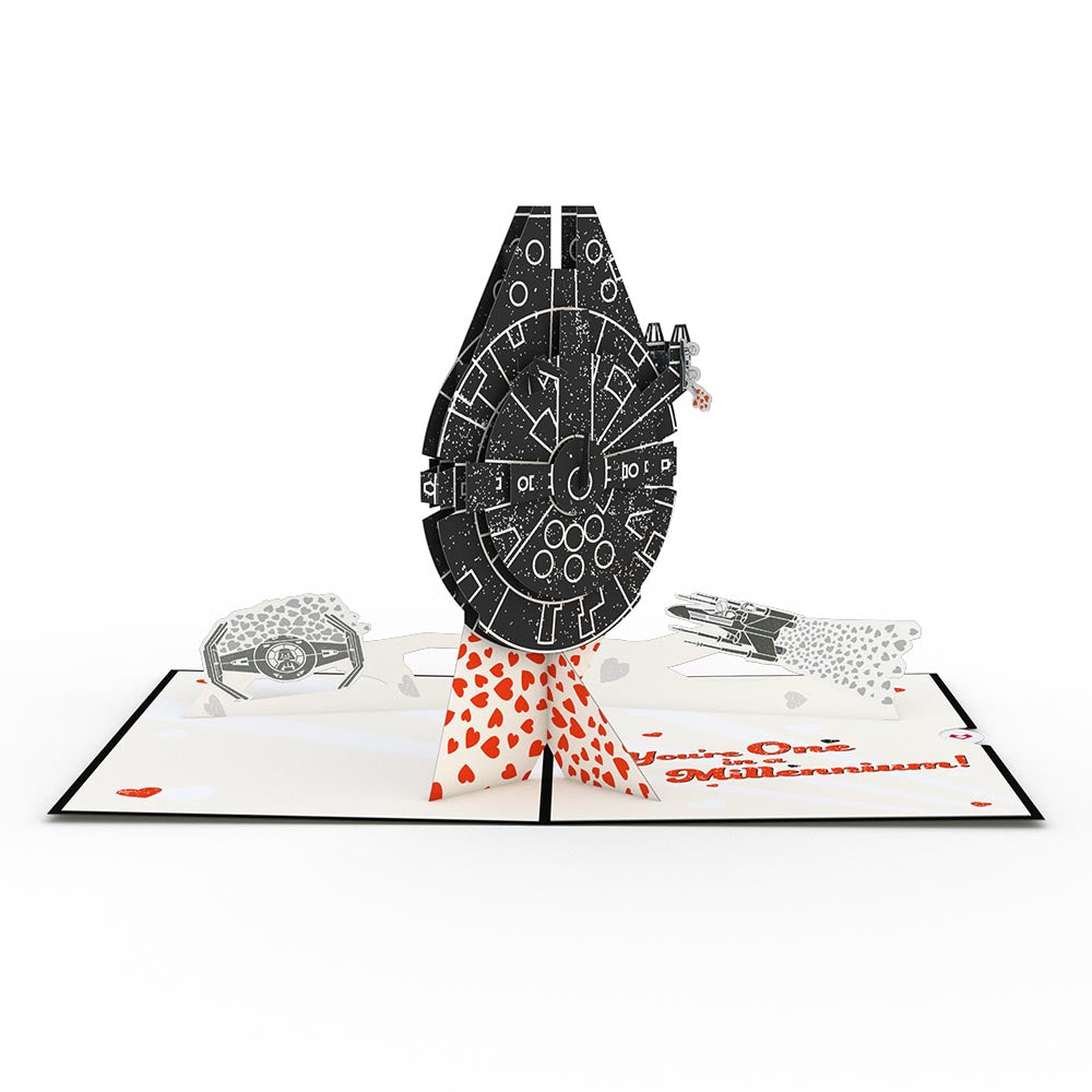Star Wars™ You're One in a Millennium Pop-Up Card