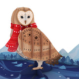 Happy Owlidays                                   pop up card - thumbnail