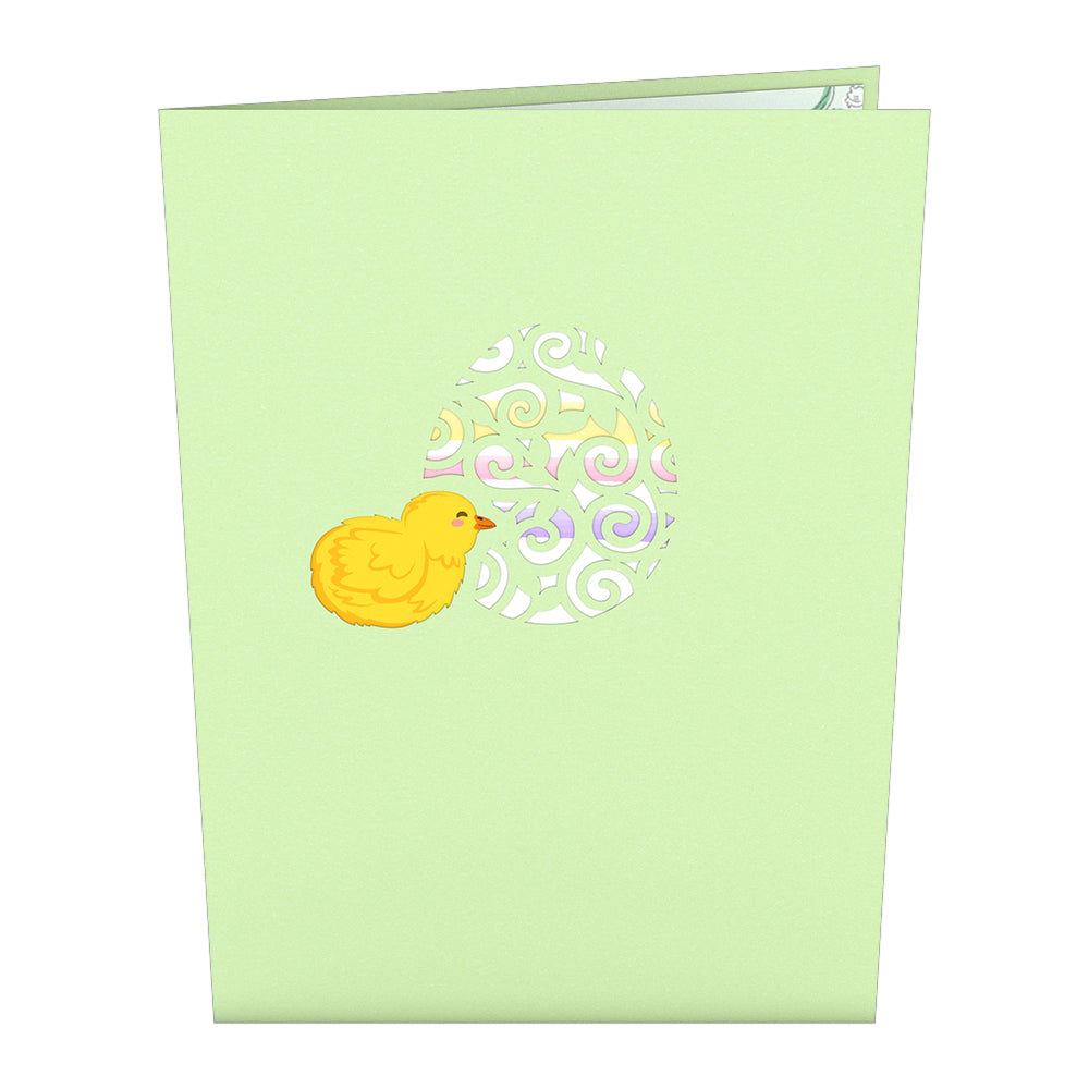 Easter Lily of the Valley Pop Up Card