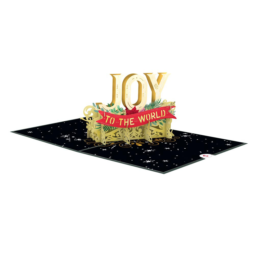 Joy to the World             pop up card