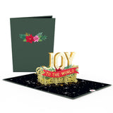 Joy to the World                                   pop up card - thumbnail