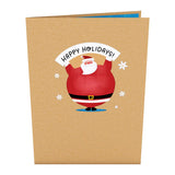 Jolly Santa                                   pop up card - thumbnail