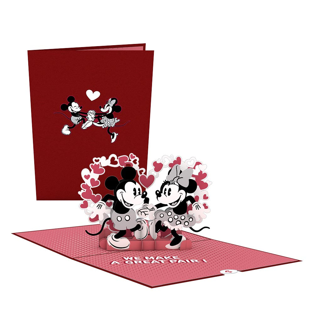 Disney's Mickey & Minnie: The Perfect Pair             pop up card