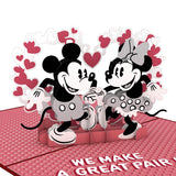 Disney's Mickey & Minnie: The Perfect Pair                                   pop up card - thumbnail