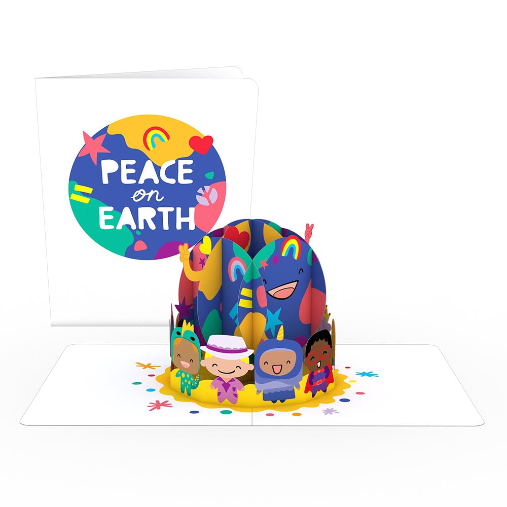 Playpop Card™: Peace on Earth             pop up card