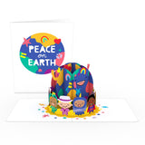 Playpop Card™: Peace on Earth                                   pop up card - thumbnail