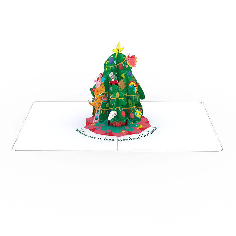 Playpop Card™: Christmas Tree Party             pop up card