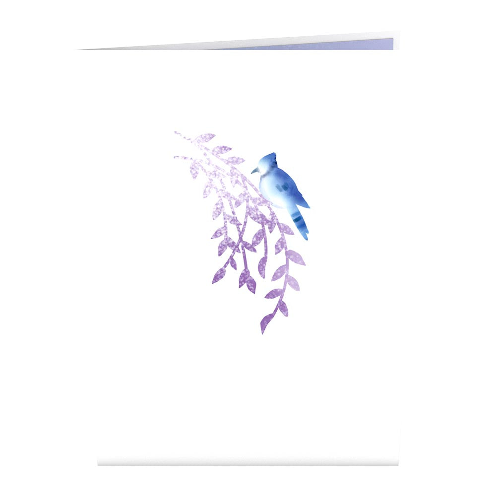 Winter Willow Tree             pop up card