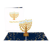 Menorah                                   pop up card - thumbnail