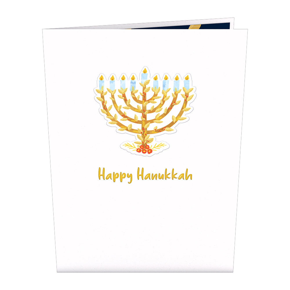 Menorah             pop up card