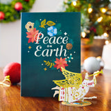 Holiday Card with Ornament (Assorted 5-Pack)                                   pop up card - thumbnail